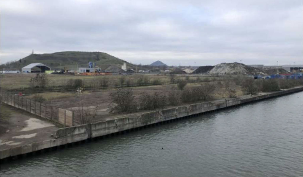 site pollué d'Evin-Malmaison